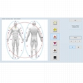 8D NLS biofeedback for healing body analysis device Vector V16 NLS