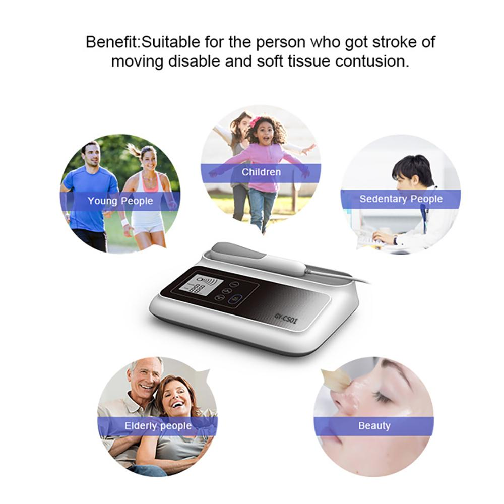 2019 High quality ultrasound shockwave pain relief instrument  1