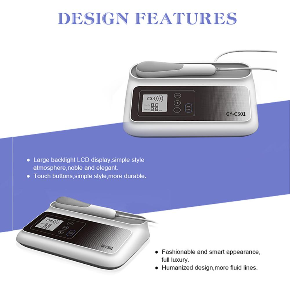 2019 High quality ultrasound shockwave pain relief instrument  7
