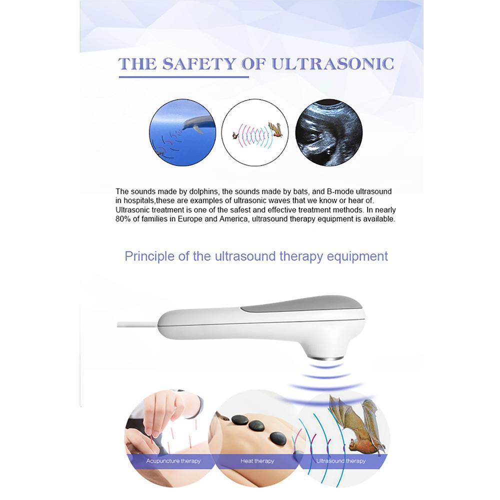 2019年新到的用於緩解身體疼痛衝擊波超聲治療儀 2