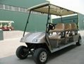 Electric golf cart with 6 seats CE