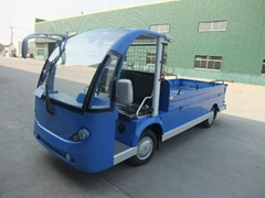 Electric bus, with rear cargo box, 2 seats, CE certificate