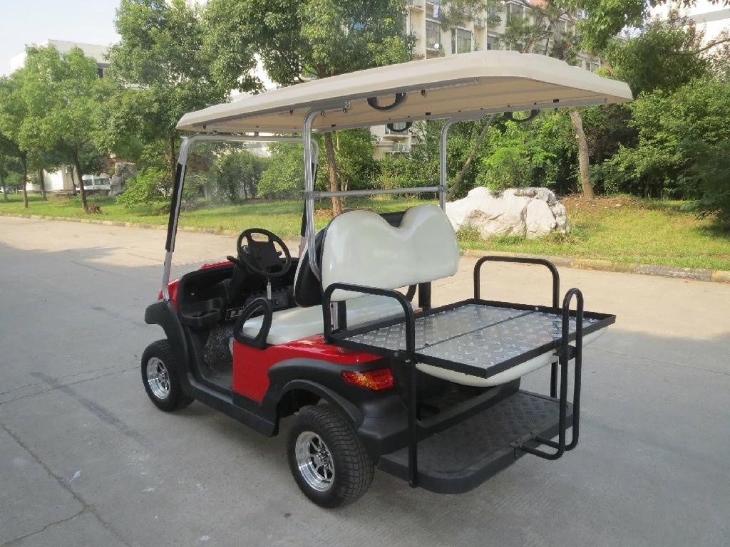 Electric golf carts, 4 seats, 2014 new design model, CE certificate 2