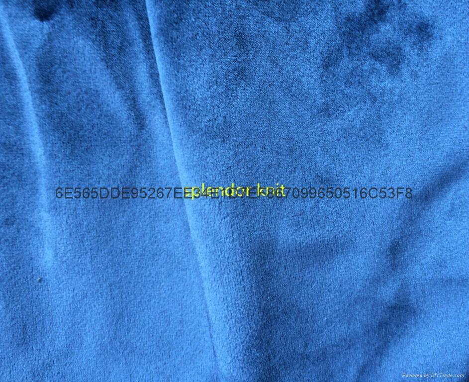 Italy velvet 260gsm 150cm use sofa fabric