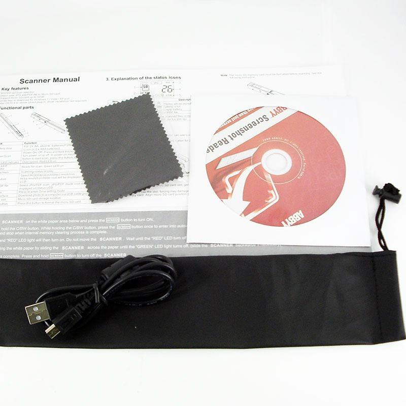 英耐特 便攜文檔掃描儀 4