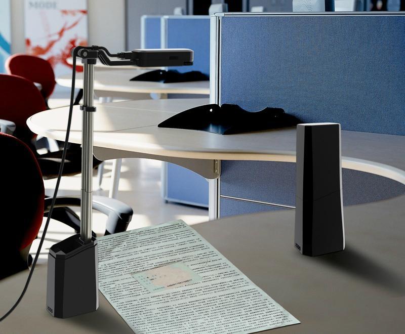英耐特多用途多功能便攜式文檔掃描儀 3