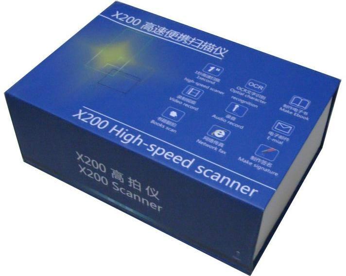 英耐特多用途多功能便携式文档扫描仪 5