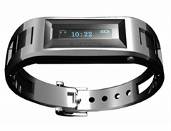 The bluetooth bracelet can be applicable for every brand bluetooth mobile phone