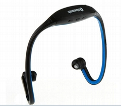 Sports wireless Bluetooth headphone earphone MP3 player support Ihopne WT-S9-1