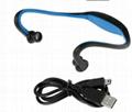 运动 无线蓝牙耳机 MP3播放器 支持Ihopne WT-S9-1 3
