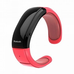 Wireless bluetooth Vibrating Bracelet with answer and hangup