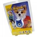 0.3 Mega Pixels Pet Digital Camera with TN Display Li-ion battery