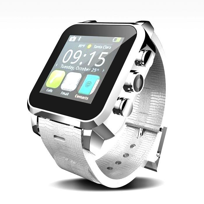LCD1.54''电容式触摸屏手表手机带摄像头/蓝牙 1
