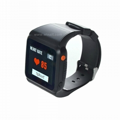 2G GSM phone watch with health detection heart rate thermometer and pedometer