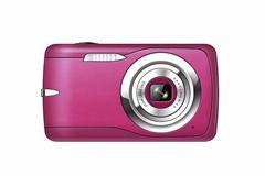 12 MP digital camera with 2.7'' TFT display 4 x digital zoom lithium battery