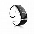 App smart bluetooth bracelet caller id phone number pedometer