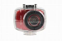HD1080P運動防水數碼攝像機2.4'觸摸屏