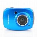 HD1080P运动防水数码摄像机2.4'触摸屏 3