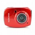 HD1080P运动防水数码摄像机2.4'触摸屏 4