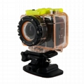 Full hd 1080p 12MP waterproof action