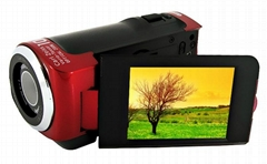 12 MP digital video camcorder with 2.4'' TFT display 8x digital zoom