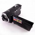 16mp digital video camera HD720P camcorder 2.7'' TFT display 4