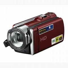 数字视频摄像机与3.0英寸TFT显示器16倍数码变焦