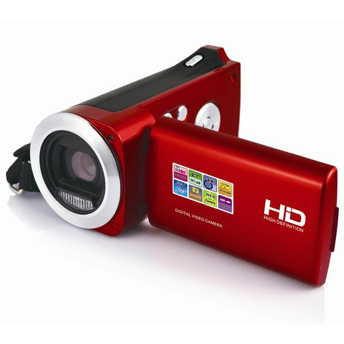 HD720P digital video camera with 2.7'' TFT display  max 16MP 4x digital zoom 2