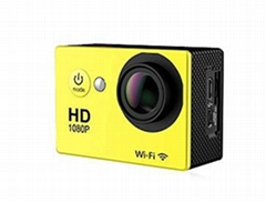 full hd 1080p waterproof action digital video camera with 140 degree wide angle