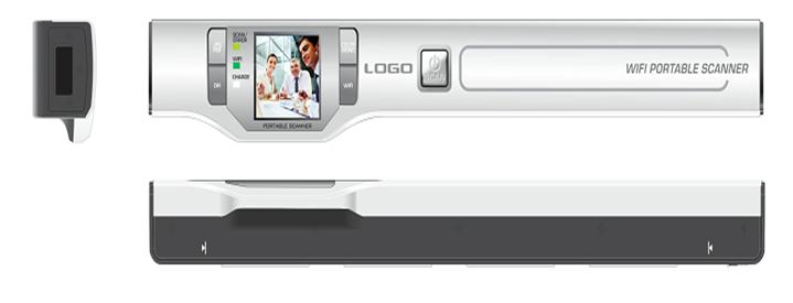 WIFI  扫描器1.44''显示器 2