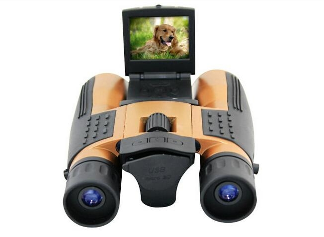 HD720P binocular digital camera with 2.0'' TFT display 2