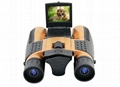 HD720P binocular digital camera with 2.0'' TFT display