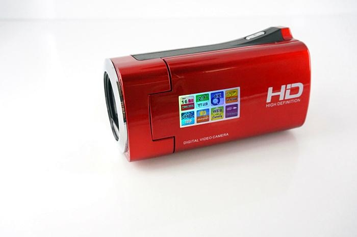 HD720P digital video camera with 2.7'' TFT display  max 16MP 4x digital zoom 5