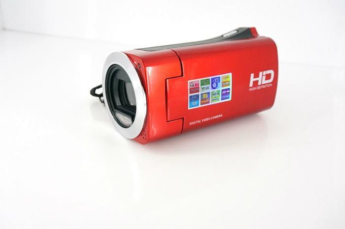 HD720P digital video camera with 2.7'' TFT display  max 16MP 4x digital zoom 10