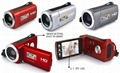 HD720P digital video camera with 2.7'' TFT display  max 16MP 4x digital zoom 20