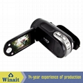 12MP digital video camera with 2.4'' TFT display 8x digital zoom