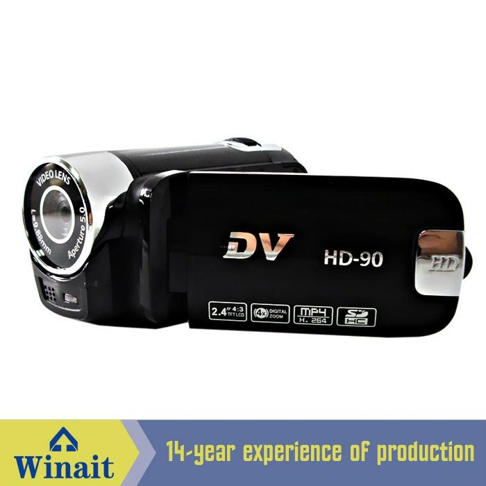 12MP digital video camera with 2.4'' TFT display 270 degree rotation 2