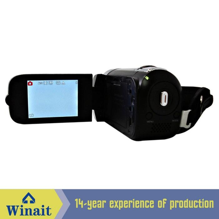 12MP digital video camera with 2.4'' TFT display 270 degree rotation 5