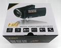 16mp digital video camera HD720P camcorder 2.7'' TFT display 5