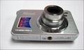 15mp digital camera with 2.7'' TFTdisplay 4x digital zoom 3 x optical zoom  11