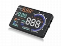 car speed display and head up display with 5.5'' display  WT-A8