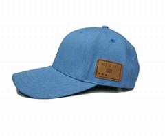 蓝牙太阳防嗮帽子可支持无线通话音乐播放