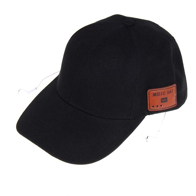 蓝牙太阳防嗮帽子可支持无线通话音乐播放 3