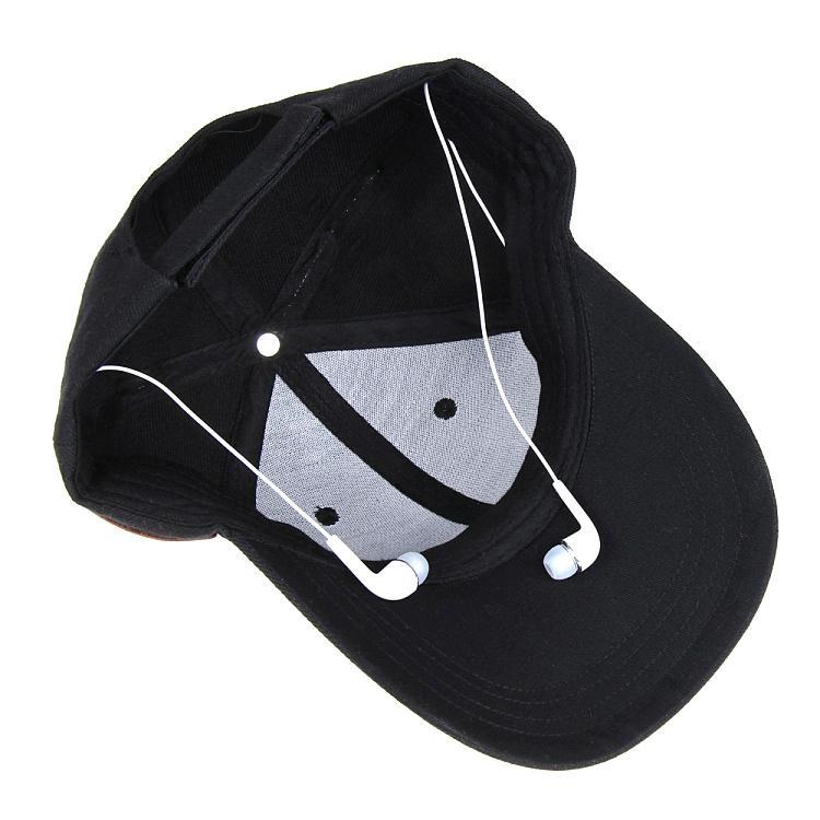 蓝牙太阳防嗮帽子可支持无线通话音乐播放 10