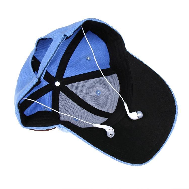 蓝牙太阳防嗮帽子可支持无线通话音乐播放 11