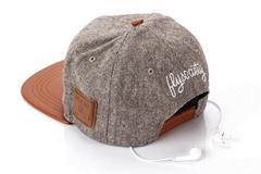 Bluetooth wireless phone supports Bluetooth music anti sun shade hat