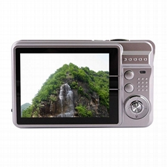 18MP digital camera with 2.7'' tft display 4 x digital zoom lithium battery