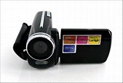 max 12mp digital video camera with 1.8'' TFT display, HD 4x digital zoom video