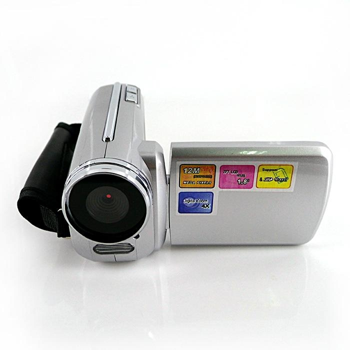 max 12mp digital video camera with 1.8'' TFT display, HD 4x digital zoom video 3