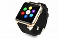 ZY06 GSM smart watch phone with touch display and camera, work with iphone 3